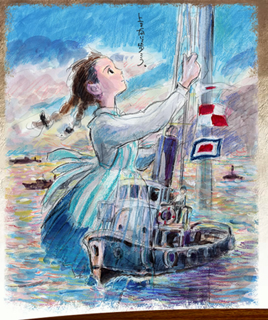 [japon] Kokuriko Zaka Kara, le nouveau film d'animation de Goro Miyazaki Kokurikozaka