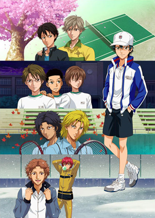 Prince Of Tennis - Films & OAV affiche