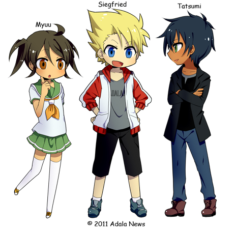personnage manga