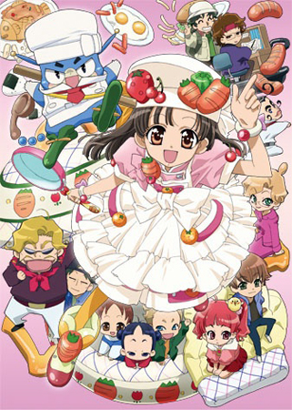 fin de l 39 anime cookin idol ai mai main annonc e. Black Bedroom Furniture Sets. Home Design Ideas