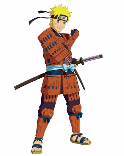 Costume Naruto Samurai