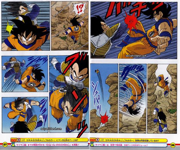 Dragon Ball Z saga Saiyan Page 6