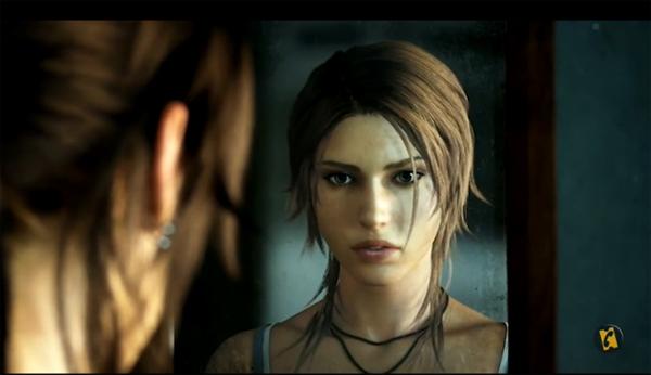 vidéo de Alice David pour son doublage de Lara Croft (Tomb Raider