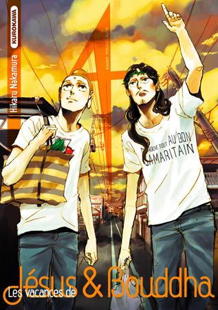 Les Vacances de Jésus & Bouddha manga