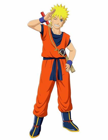Naruto Ninja Storm costume Dragon Ball Goku