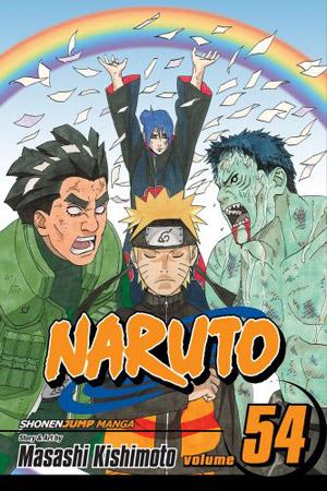 Naruto T.54 Viz Media