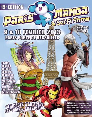 Paris Manga Février 2013