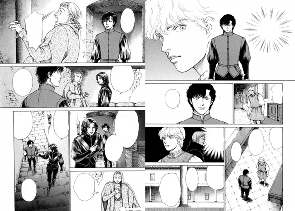 Cesare extrait manga