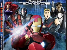 Iron Man Rise of Technovore Bluray DVD
