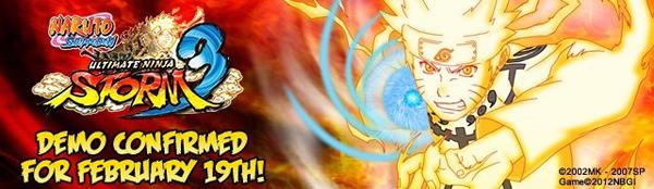 Naruto Shippuden Ultimate Ninja Storm 3 Démo annonce