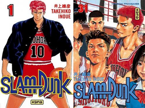 Les Mangas Shonen Les Plus Lucratifs ! Slamdunk