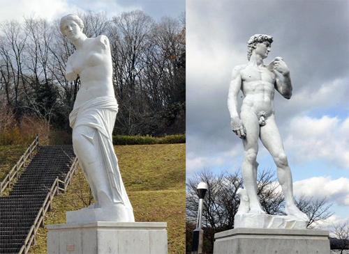 Venus de Milo & David