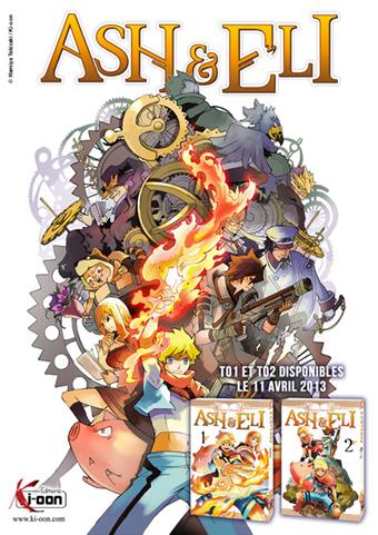 Ash & Eli manga