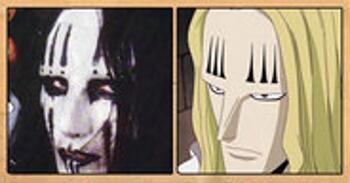 Les célébrités qui ont inspiré certains personnages d'One Piece Basil-Hawkins