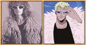 Les célébrités qui ont inspiré certains personnages d'One Piece Doflamingo
