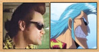 Les célébrités qui ont inspiré certains personnages d'One Piece Franky