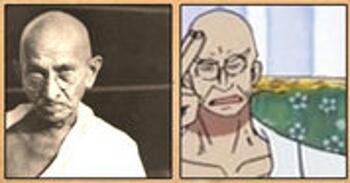 Gandhi (dirigeant politique/guide spirituel de l'Inde) – Le Gorosei