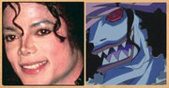 Les célébrités qui ont inspiré certains personnages d'One Piece Hody-Jones