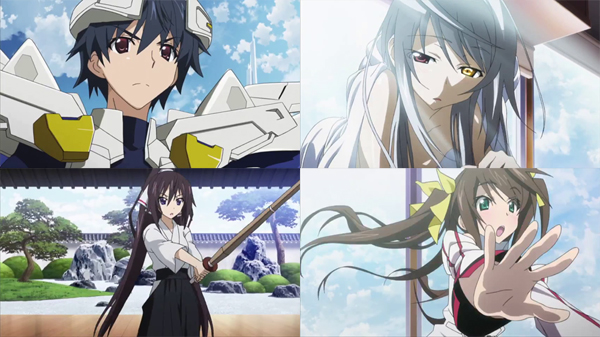 IS Infinite Stratos 2 teaser