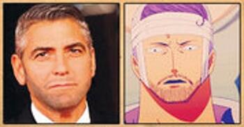 George Clooney (acteur/réalisateur américain) – Iceburg