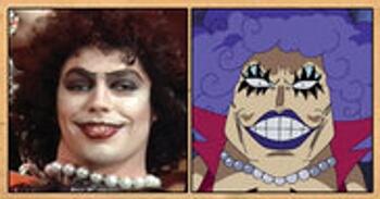 Les célébrités qui ont inspiré certains personnages d'One Piece Ivankov