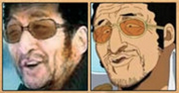 Les célébrités qui ont inspiré certains personnages d'One Piece Kizaru