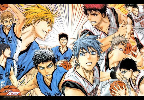 Kuroko Basket manga illustration
