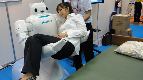 RIBA II Care Support Robot