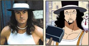 Les célébrités qui ont inspiré certains personnages d'One Piece Rob-Lucci