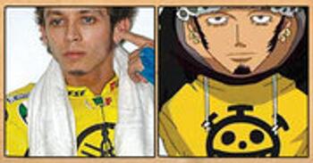 Les célébrités qui ont inspiré certains personnages d'One Piece Trafalgar-Law