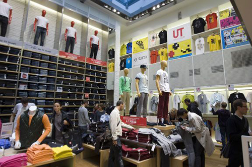 Uniqlo paris beaugrenelle
