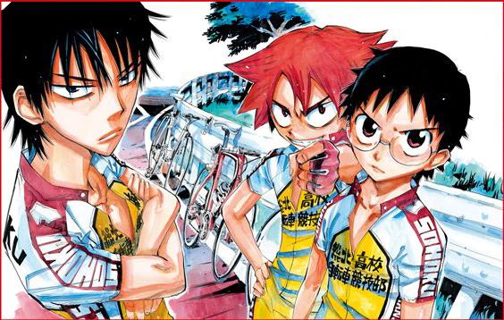 Yowamushi Pedal illustration