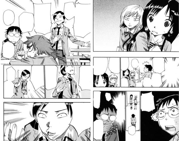 Yowamushi Pedal manga