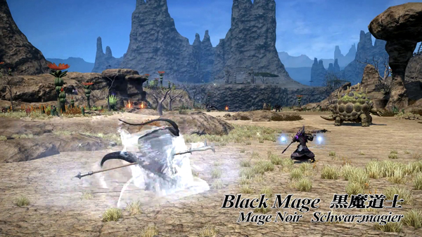 FF14 black mage