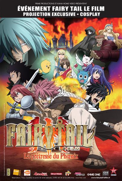 Fairy Tail the movie FR