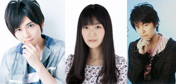 Kaji Yuki (Eren Jaeger), Ishikawa Yui (Mikasa Ackerman) & Shimono Hiro (Connie Springer)