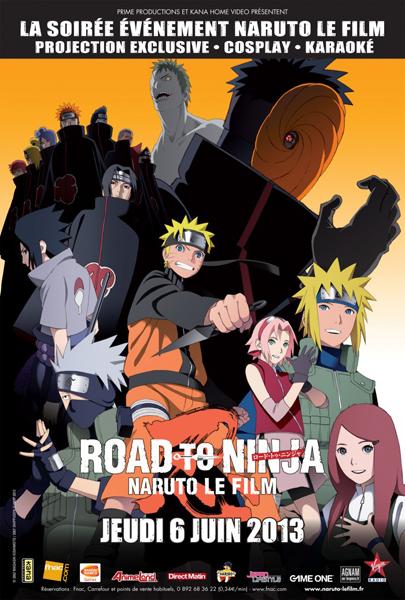 Road to ninja naruto movie