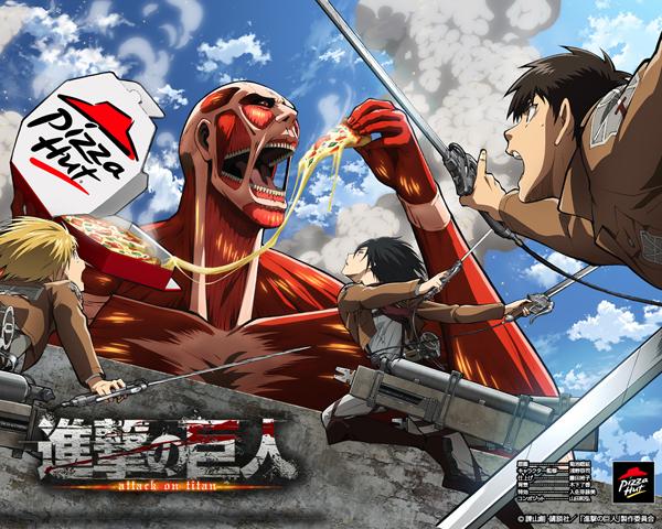 Shingeki no Kyojin Attack-on-Titan-Pizza-Hut