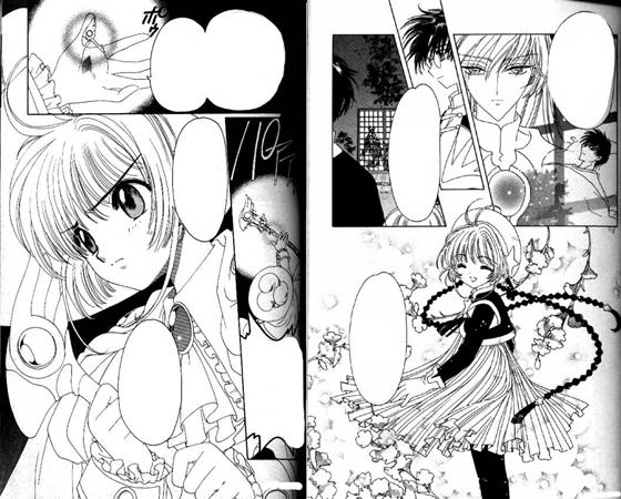 Cardcaptor Sakura manga