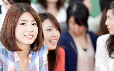 japonais femmes à la recherche pour le copain