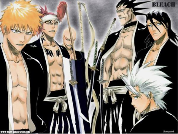 Bleach manga illustration
