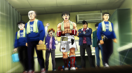hajime no ippo the fighting - rising