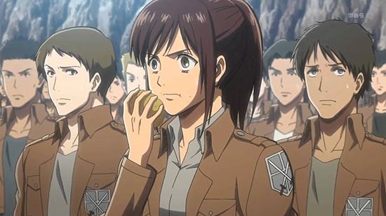 personnages de shingeki no kyojin
