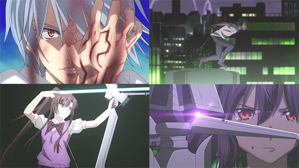 Strike The Blood anime