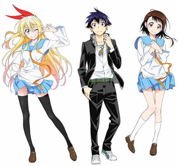 Nisekoi anime visual art