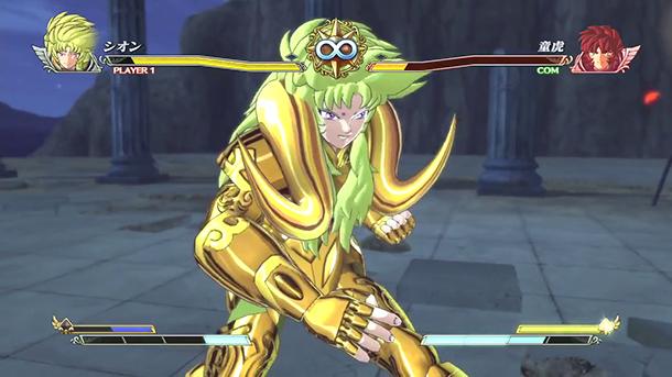 Saint Seiya Brave Soldiers gameplay