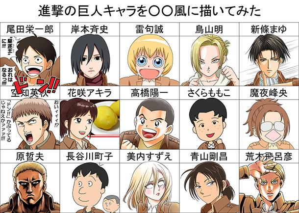 Saurez-vous reconnaître quel style graphique se cache derrière chaque personnage ?