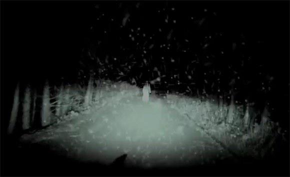 Le fantôme des neiges, en Publicité Vidéo |