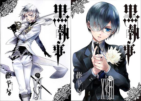 Kuroshitsuji-manga-tomes