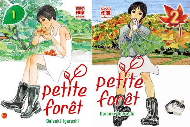 Petite-Foret-manga-tomes